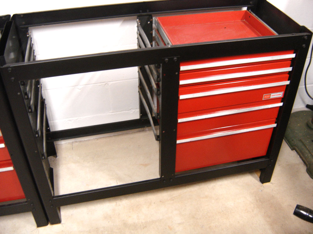 craftsman workbench with 3 drawers 2