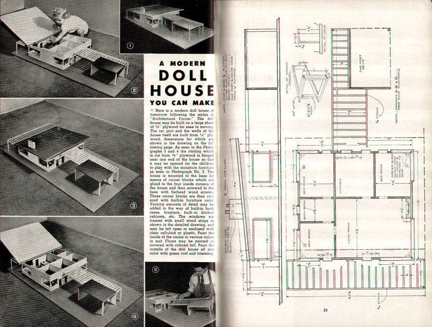 Free Dollhouse Plans - Build a Dollhouse With Free Plans